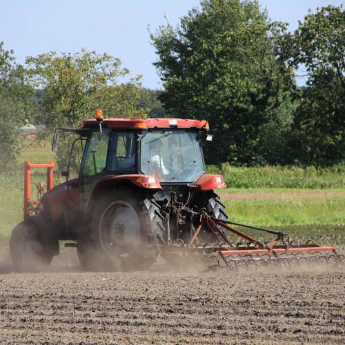 Grondbewerking om het bodemleven te sparen